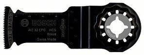 Погружное пильное полотно по дереву Bosch Starlock HCS AIZ 32 EPC Wood, 5 шт