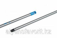 Алюминиевая ручка 130 см. для флаундера (пластикового держателя-закручивающаяся)