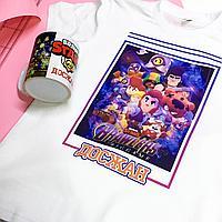 Детская футболка и кружка Brawl Stars