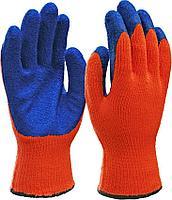 Перчатки зимние с латексным покрытием
