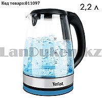 Электрический чайник термостойкий с функцией авто отключения и с подсветкой 2,2 л Tefal TF-818