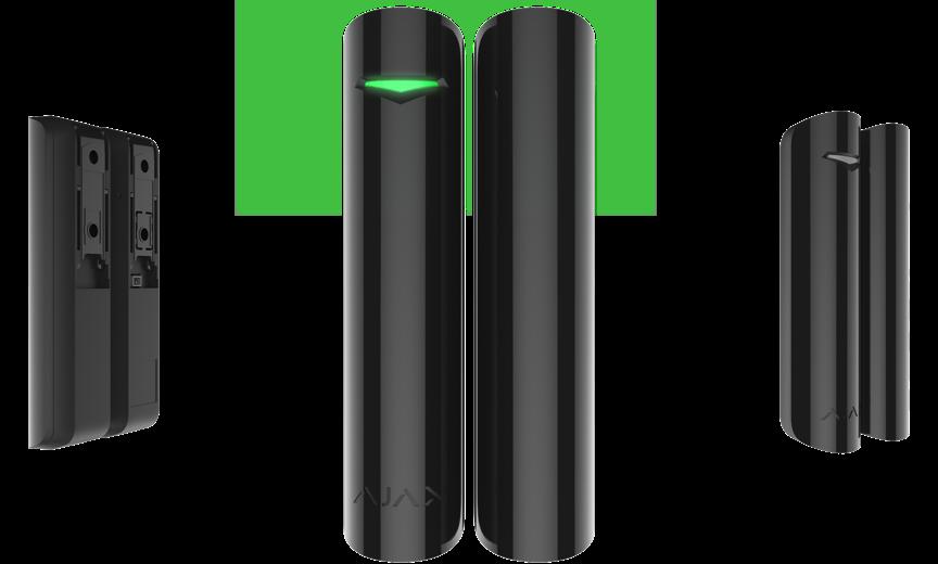 Беспроводной датчик открытия с сенсором удара и наклона DoorProtect Plus Black