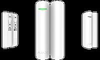 Беспроводной датчик открытия с сенсором удара и наклона DoorProtect Plus White, фото 1