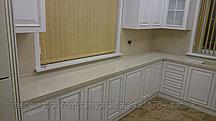 Столешница и фартук из искусственного камня на кухонный гарнитур