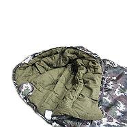 """""""Комбат"""" двухслойный спальный мешок-кокон, фото 4"""