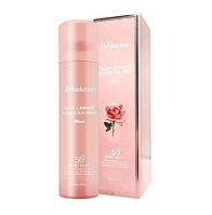 Водостойкий солнцезащитный спрей для лица и тела JMSolution Glow Luminous Flower Sun Spray