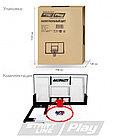 Баскетбольный щит StartLine Play 110, фото 4