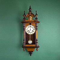 Кабинетные настенные часы. Часовая мастерская Hamburg Amerikanische Uhrenfabrik.
