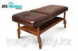 Массажный стол стационарный Comfort SLR-10 (коричневый)