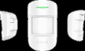 Беспроводной комбинированный датчик движения и разбития CombiProtect White