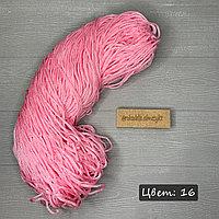 Полиэфирный шнур без сердечника, 3мм, пасма розовый
