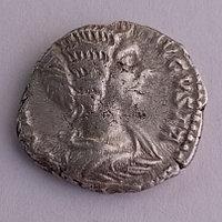 Императрица Юлия Домна. Римская Империя. Номинал: Денарий. Место чеканки: Рим. Год чеканки:196-211гг.