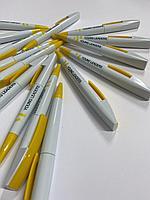 Ручка пластиковая, шариковая с нанесением логотипа