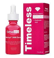 Антиоксидантная сыворотка для увлажнения Timeless Skin Care Serum Matrixyl 3000 + Hyaluronic Acid