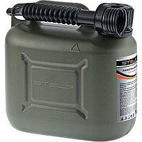 Канистра для ГСМ вертикальная 20 литров, пластиковая, усиленная STELS