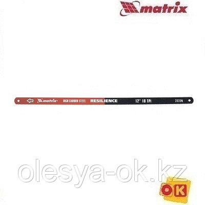 Полотна 2 шт. по металлу 18 TPI. 300 мм. MATRIX, фото 2