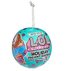 Кукла Лол Новогодняя серия - Lol Holiday Present Series