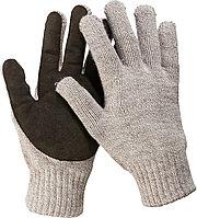 Перчатки утепленные ЗУБР ТАЙГА, размер L-XL, со спилковым наладонником.