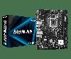 Intel 1200 B460 ASRock 2DDR4 4SATA M.2 HDMI DVI-D VGA microATX (B460M-HDV)