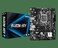 Intel 1200 B460 ASRock 2DDR4 4SATA M.2 HDMI DVI-D VGA microATX (B460M-HDV), фото 1