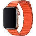 Браслет для часов Apple Watch 44mm Sunset Leather Loop - Medium