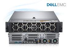 DELL 210-AKXJ-A4 Сервер PowerEdge R740 16SFF 1/Xeon Silver/4214, 2.2 GHz,4*16 Gb