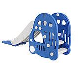 Горка Pituso с баскетбольным кольцом Машинка BLUE/ Синий, фото 6
