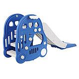 Горка Pituso с баскетбольным кольцом Машинка BLUE/ Синий, фото 9