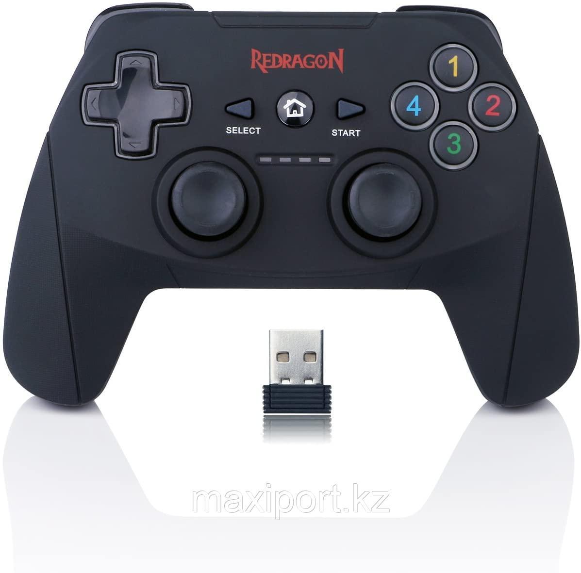 Reddragon Harrow беспроводной геймпад джойстик для ПК и PS3 (не требует настройки)