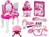 Детский игровой набор туалетный столик, трюмо для девочек, фото 2