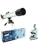 Телескоп и микроскоп набор TWMP-0406