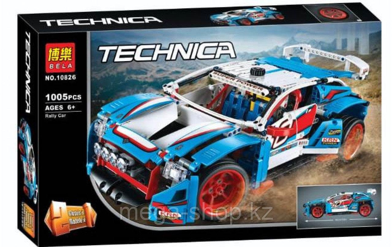 Конструктор Bela Technic Гоночный автомобиль 10826 1029 дет - фото 1