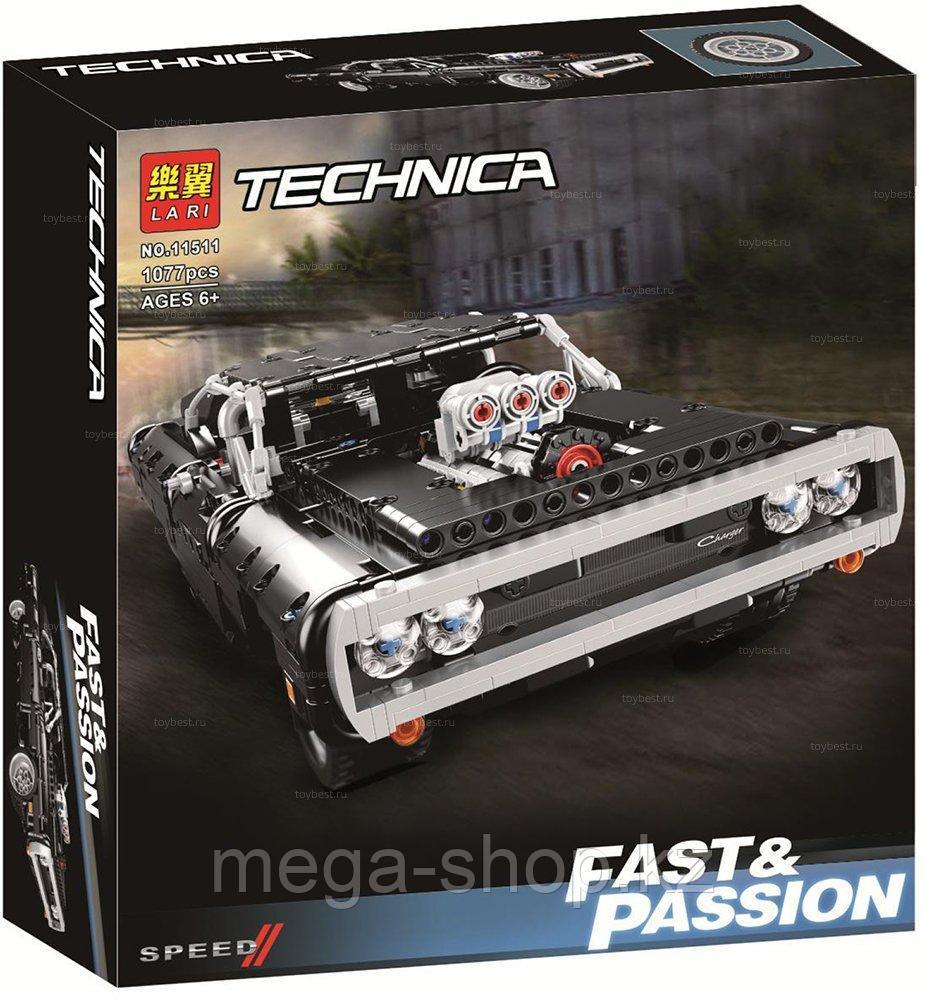 Конструктор Lari 11511 Dodge Charger Доминика Торетто