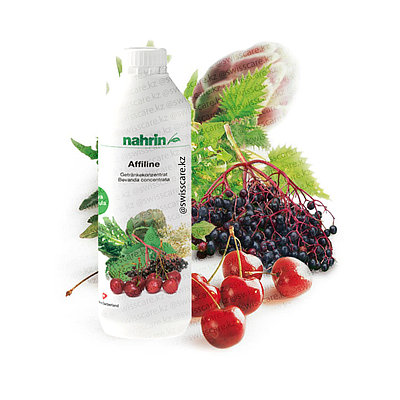 Напиток Аффилайн очищение лимфы, лимфодренаж, от отеков Нарин Nahrin 500ml (Оригинал - Швейцария)