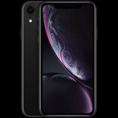 Смартфон Apple IPhone XR 64GB Черный, Model A2105 - фото 1
