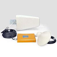 Усилитель (Репитер) сигнала сотовой связи GSM 900Mhz DCS 4G 1800MHz Комплект