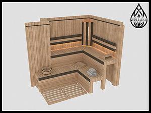 3D моделирование финских саун
