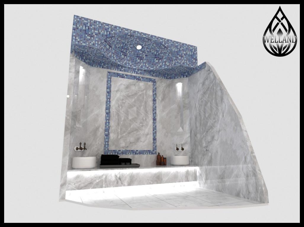 3D моделирование турецких бань (хаммамов)