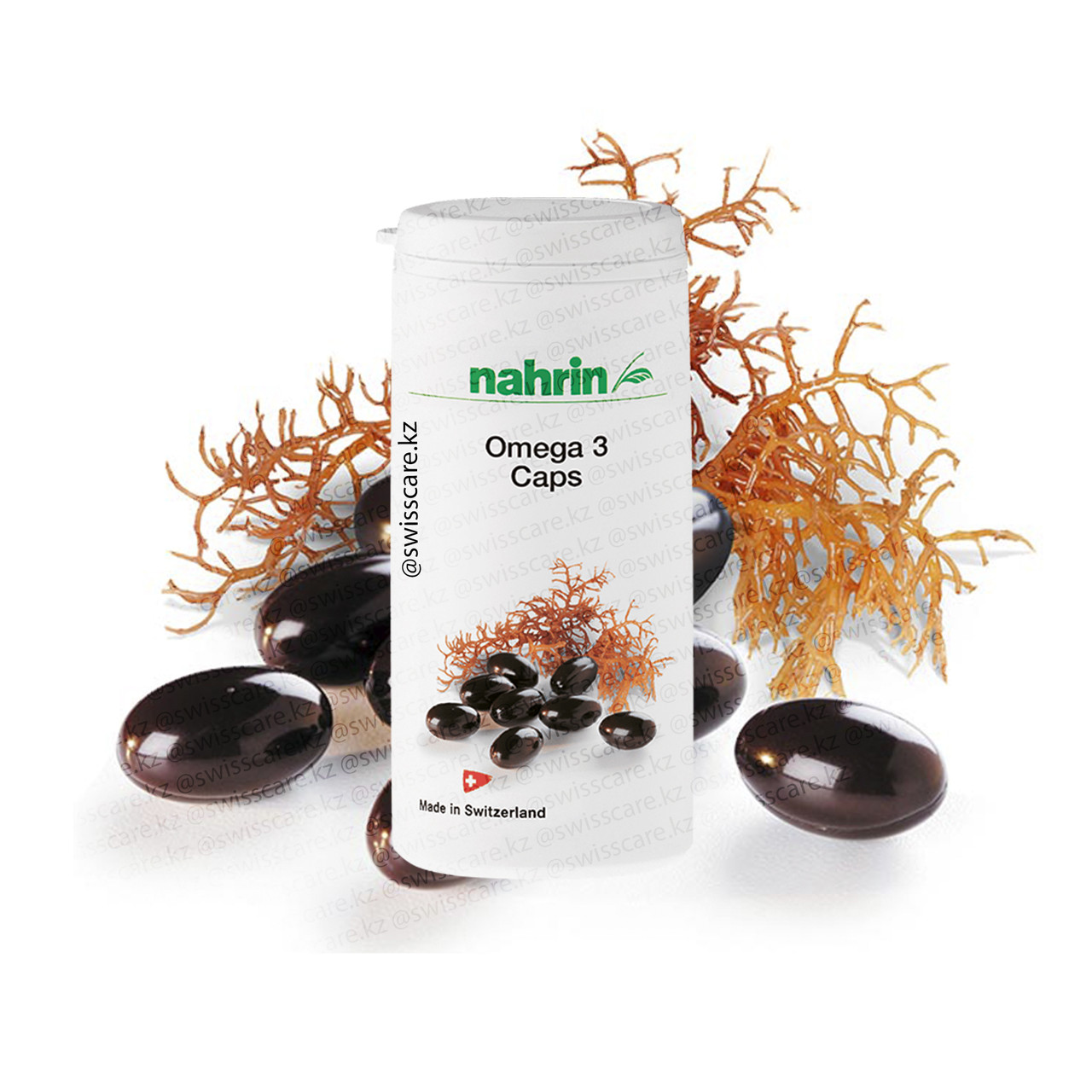 Капсулы Омега-3 Нарин Nahrin (Оригинал-Швейцария)