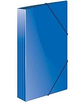 """Папка на резинке Berlingo """"Standard"""", А4 пластиковая, синяя"""