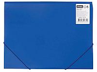 Папка на резинках  OfficeSpace, A4 пластиковая, синяя