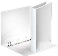 "Папка на 4-х кольцах DELI ""Viev Binder"", презентационная, корешок 38 мм, белая"