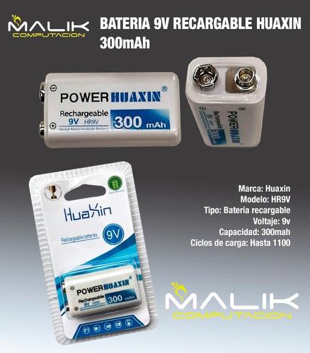 Аккумулятор крона POWER HUAXIN 9v 300mAh