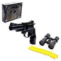 Пистолет «Атака», стреляет силиконовыми пульками, МИКС