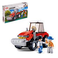 Конструктор «Фермерский трактор», 103 детали