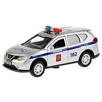 Машина металлическая, инерционная» Nissan X-Trail полиция», 12 см, световые и звуковые эффекты