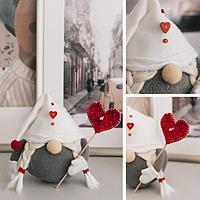 Интерьерная кукла «Гномик Астрид», набор для шитья 21 × 0.5 × 29.7 см
