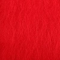 """Шерсть д/валяния """"Кардочес"""" 100% полутонкая шерсть 100гр (29 мкр, дл. 74, 0042 красный)"""