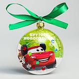 """Набор для твочества """"Новогодний шар с раскраской """"С Новым годом"""" Тачки, фото 2"""