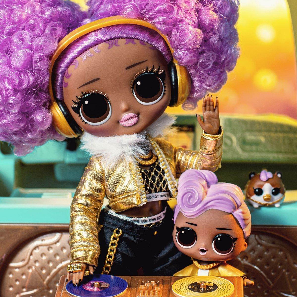Кукла ЛОЛ Сюрприз леди диджей L.O.L. Surprise! O.M.G. 24K D.J. - фото 2